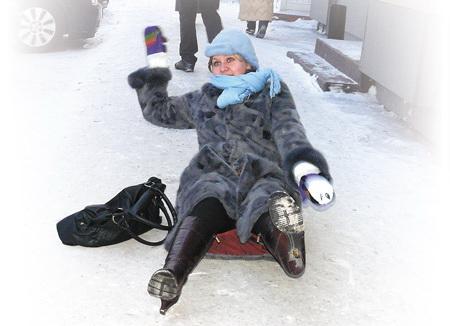 Зимние травмы